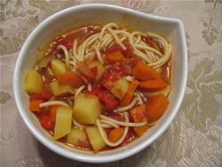 Lagman with Spaghetti