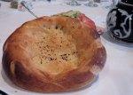 Lepyoshka - Uzbek bread)