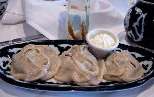 Manti - Uzbek food
