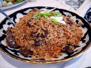 Plov - Uzbek dish