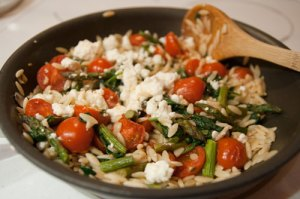 Orzo with Feta